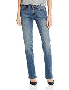 Lucky Brand Women's Mid Rise Easy Rider Bootcut Jean, Turlock, 27 x 32 (US Boot cut jean with relaxed fit through the hips and thighs Gym Clothes Women, Dress Clothes For Women, Rider Boots, All Jeans, Easy Rider, Office Fashion Women, Womens Workout Outfits, Women's Summer Fashion, Fashion Fashion