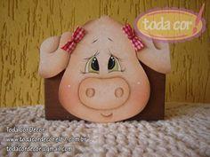 Porquinho porta guardanapo para sua cozinha. R$25,00