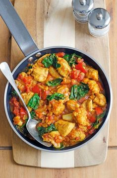 Chou fleur curry coco au cookeo An original and vegetarian recipe for cooking cauliflower, using your Cookeo pressure cooker!