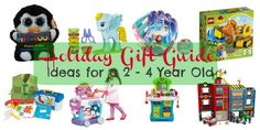 Do you have a toddler on your holiday shopping list? See our list of over 50 amazing gift ideas for a child between the ages of 2 - 4 years old.