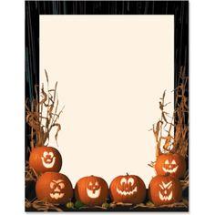 103 best halloween stationery images halloween borders borders