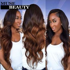 10A Spring Queen Hair Body Wave Brazilian Ombre Hair Weft 1B 30 Two Tone Ombre Human Hair 4 Bundles Mobb Ombre Hair Extensions