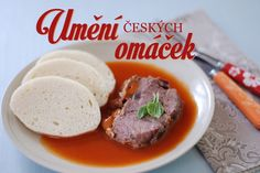 Eastern European Recipes, Czech Recipes, Learn To Cook, Bon Appetit, Gravy, Food Inspiration, Stew, Ham, Paleo