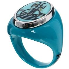 Vivienne Westwood Diana Turquoise Ring  www.asos.com
