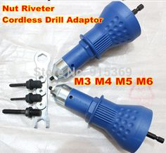 Cheap drilling technology, Buy Quality drill cobalt directly from China drill bits and taps Suppliers: 			Rivet Nut rivets tool/ insert nut riveting Drill Adaptor.				Nut RIVETER ADAPTOR FOR CORDLESS DRILL M3