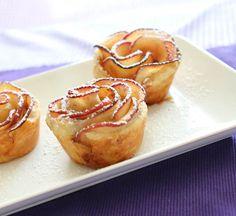 Vegan Apple Pie Roses