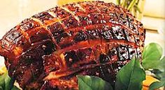 Char Siu Glazed Ham - Can't wait to eat this sweet, salty, savory ham for Easter dinner!