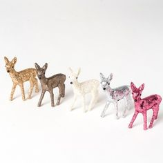 Bambi paillettes Noël my Little bazar Christmas