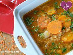 Vöröslencse leves  - Finom és egészséges ételek!