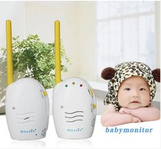 (Buy here: http://appdeal.ru/2ic ) New Arrival Factory Outlet Wireless Digital Audio Baby Monitor Clear Audio One-way Intercom Affordable Prices for just US $39.86
