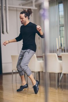Savion Glover – Tap Dancer – LG SIGNATURE Shoot 2016