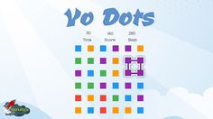 Test your eye-hand coordination and get ready to become a dot-matching master. #KeenuApps brings you an all-new dot-matching game that can take your online gaming experience to the next level.  Play Online: https://keenuapps.com/webgame/yo-dots