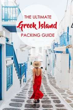What to Pack for a Week in the Greek Islands From dazzling turquoise water and white-sand beaches to iconic whitewashed towns bursting with cyan and fuchsia details, the Greek Islands are a photograph Greek Islands Vacation, Greek Islands To Visit, Greece Islands, Greece Honeymoon, Greece Vacation, Greece Travel, Greece Trip, Greece Itinerary, Honeymoon Ideas
