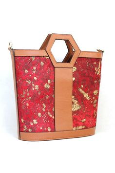Charlie Tote in Gold Leaf on Ruby on Emma Stine Limited