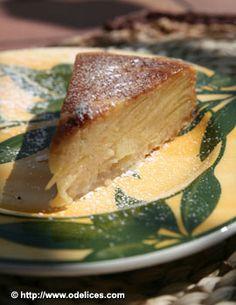 Gâteau invisible Pommes & Poires d'Eryn  testé approuvé par une perle sur un fil