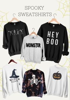 Graphic Halloween Sweatshirts