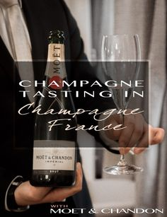 Champagne Tasting in Champagne France with Moet and Chandon