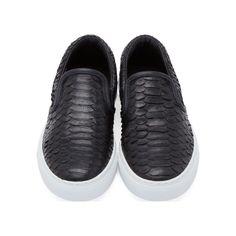 Diemme Black Python Garda Sneakers