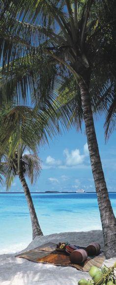 Four Seasons Resort in the Maldives at Kuda Huraa.