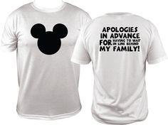 Adult Disney Family Shirts Dad