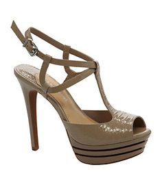 Gianni Bini Sharla T-Strap Sandals | Bought these yesterday , wore them today  love'em