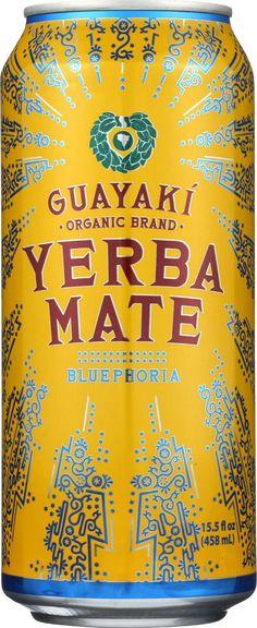 Guayaki Yerba Mate - Bluephoria - Case Of 12 - 15.5 Fl Oz.