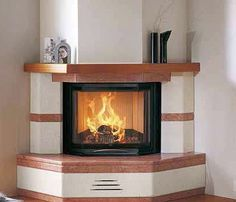 Classic Fireplace, Home Fireplace, Fireplace Remodel, Fireplace Design, Fireplace Mantels, Design Case, Diy Design, Granite Hearth, Wood Mantels