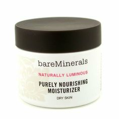 BareMinerals Purely Nourishing Cream - Dry Skin 50ml/1.7oz by Bare Escentuals. $37.99. This beauty product is 100% original.. Reinforces absorption & preservation of moisture Replenishes skin with intensive hydration Leaves skin tightened plump luminous & invigorated With active mineral electrolytes Contains 100% pure RareMinerals Complex blended with an exotic Resurrection Plant Extract Rich yet lightweight texture without oily & heavy feel