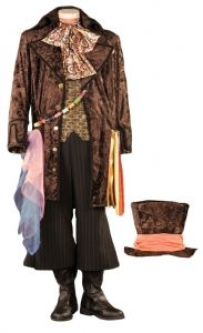 Men's Deluxe Alice in Wonderland Brown Mad Hatter Theatrical Quality Costume includes Hat Adult Costumes, Halloween Costumes, Alice In Wonderland Theme, Costume Shop, Through The Looking Glass, Retro Vintage, Mad, Dress Up, Stuff To Buy