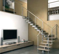 Scala da interni dal design moderno n.30