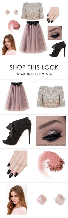 """Blush & Black 4"" by bricie-troglia on Polyvore featuring Coast, Bebe, ncLA, NARS Cosmetics, Lulu*s, Michael Kors, women's clothing, women, female and woman"