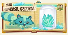 Greetings Jammers! Today's AJ ACADEMY experiment teaches Jammers how to make their very own CRYSTAL GARDEN! Crystals are beautiful formations and can be found all throughout Jamaa
