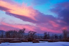 Frigid New Year morning    Frozen Sawhill Ponds and hot sunrise skies.  Boulder Colorado