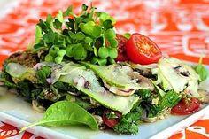 Sienilasagne raaoista vihanneksista Potato Salad, Tacos, Mexican, Potatoes, Vegan, Ethnic Recipes, Food, Potato, Essen