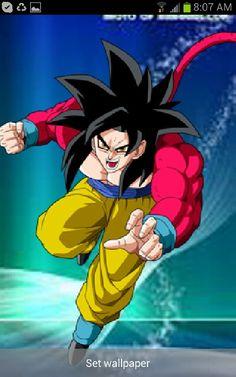 Goku,so sexy. Goku super sain 4,final form