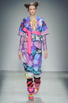 The Fall Runways Were Filled With Ravers and Club Kids: Manish Arora