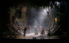 The Tempest. The Shakespeare Theater. Scenic design by Walt Spangler.