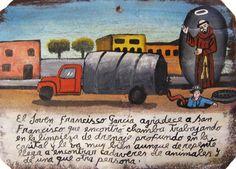 Франсиско Гарсия благодарит Святого Франциска Ассизского, что ему выпало работать ассенизатором в столице. Ему нравится работа, несмотря на то, что порой ему попадаются мёртвые животные, а один раз он даже наткнулся на человеческий труп.