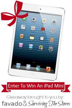 Enter to win an iPad Mini!!!