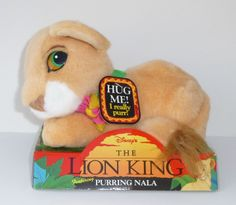 Disney The Lion King Plush Purring Nala