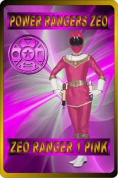 Zeo Ranger 1 Pink by rangeranime on Power Rangers Fan Art, Power Rangers Zeo, Power Rangers Toys, Mighty Morphin Power Rangers, Go Busters, Power Rengers, Video Game Characters, User Profile, Super Powers