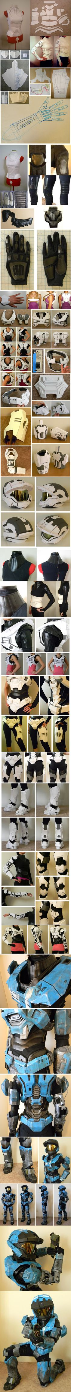 """Kat Armor build with Custom Undersuit"" by LilTyrant ~ this is what hard work looks like."