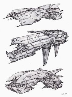 Spaceship Design, Concept Ships, Cyberpunk Art, Environment Concept Art, Space Crafts, Drawing Tools, Drawing Reference, Line Art, Spaceships