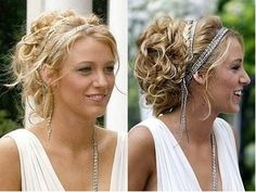 This hairstyle is whimsical and beautiful.