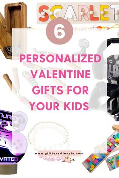 Here are some awesome personalized valentine's day gifts for kids. Small gifts for kids that they will love!
