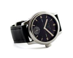 Handwound watch - Pinion Pure Pro Steel watch