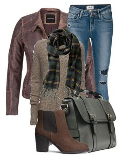 Untitled #856 by mkomorowski on Polyvore featuring polyvore, moda, style, ATM by Anthony Thomas Melillo, maurices, Paige Denim, H&M, JAY. M and Old Navy