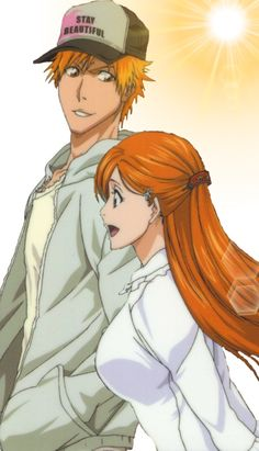 Image via We Heart It #anime #bleach #Ichigo #Orihime #ichihime