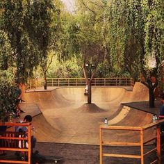 i don't skate but this is awesome design for skate park!