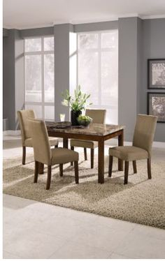 love wall color and dining room chairs value city